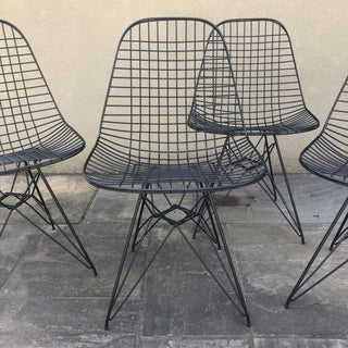 Herman Miller Eames Vintage Wire Chair Eiffel Original Preview