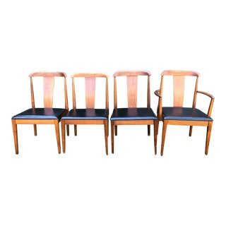 Mid Century Modern Merton L. Gershun for Dillingham Dining Chairs - Set of 4 For Sale