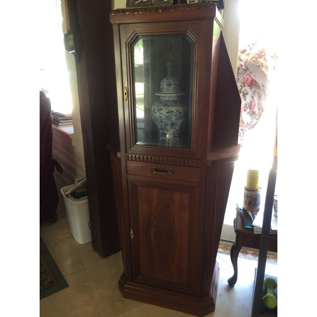 Vitrine Wooden Showcase For Sale - Image 10 of 11