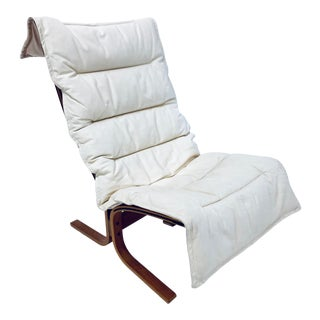"Ingmar Relling ""Siesta"" Leather Lounge Chair for Westnofa For Sale"