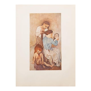 "1950s Picasso ""La Coiffure"" Original Period Lithograph For Sale"