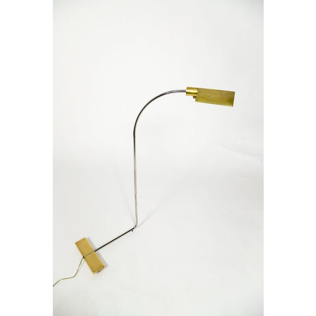 Mid-Century Modern 1970s Cedric Hartman Brass Floor Lamp For Sale - Image 3 of 13