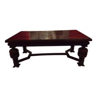 Circa 1890-1900 Leaf Dining Table