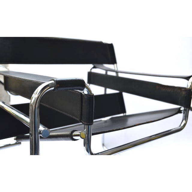 1970s Marcel Breuer Wassily Chair by Knoll For Sale - Image 11 of 12