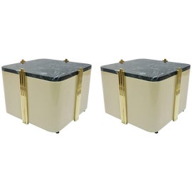 Image of Marble Side Tables