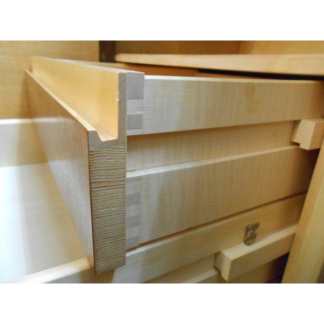 Danish Modern Walnut Tall Credenza Sideboard - Image 6 of 10