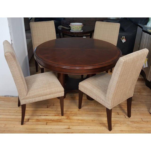Hickory White Dining Room Set For Sale - Image 13 of 13