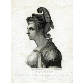 Antique 1787 Zenobia Print For Sale