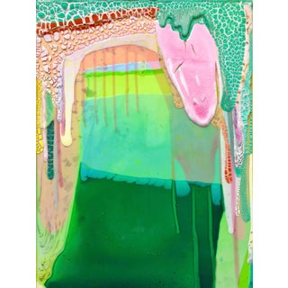 """""""Rock Formation"""" Contemporary Site-Specific Abstract Painting For Sale"""
