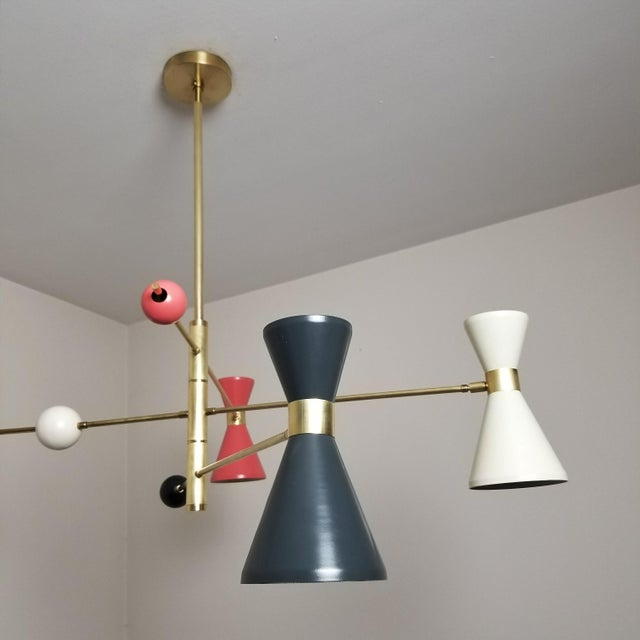 Italian modern campana 3 arm pendant chairish italian modern campana 3 arm pendant image aloadofball Choice Image