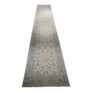 "Bellwether Rugs ""Mira"" Oushak Runner - 4′ × 22′7″ For Sale"
