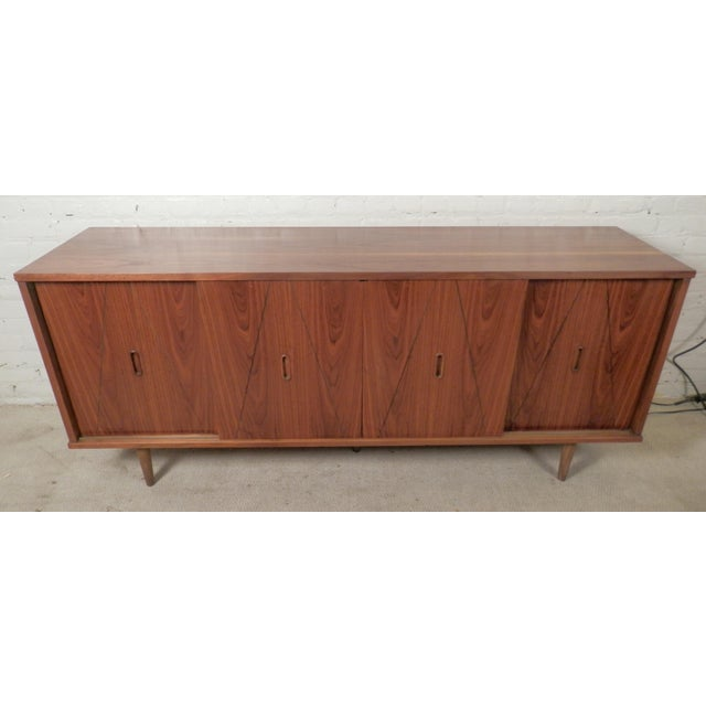 Mid-Century Modern American Credenza - Image 3 of 9