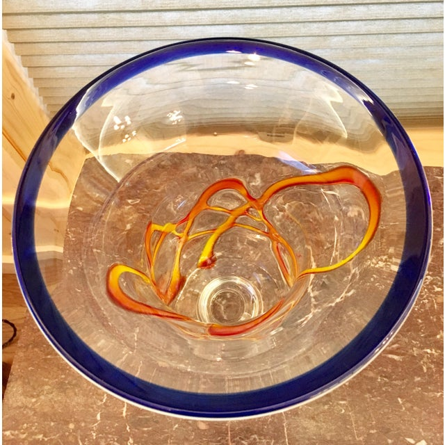 Primary Color Art Glass Vase - Image 7 of 9