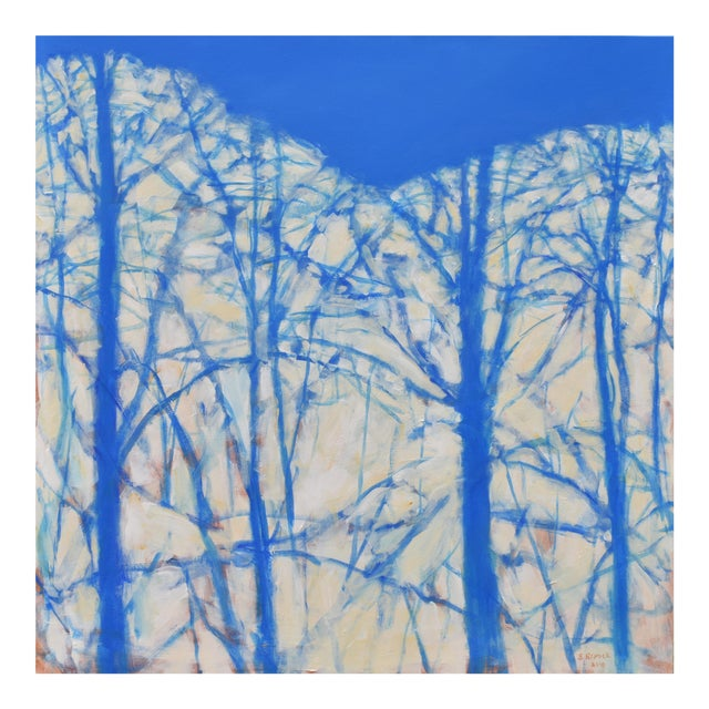 """""""A Sky So Blue"""" Abstract Painting by Stephen Remick For Sale"""