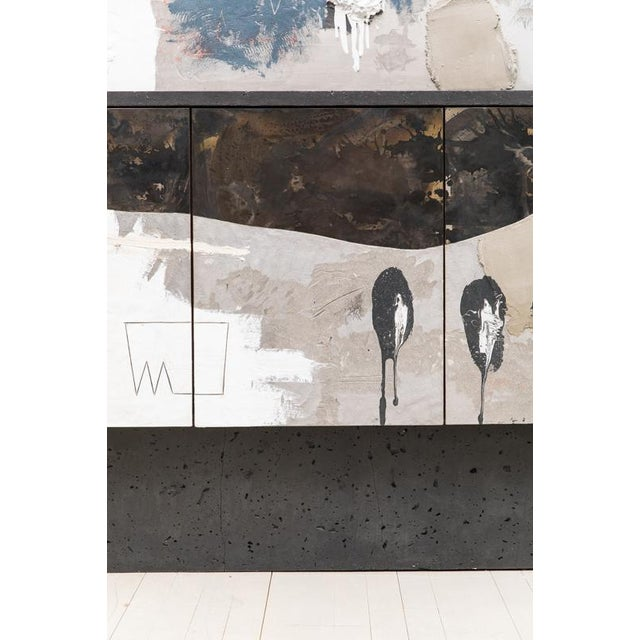 Metal Console Diptych, Usa, 2019 For Sale - Image 7 of 12