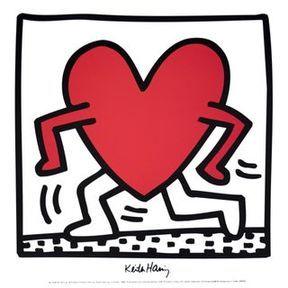 Keith Haring, Untitled (1984), Offset Lithograph For Sale