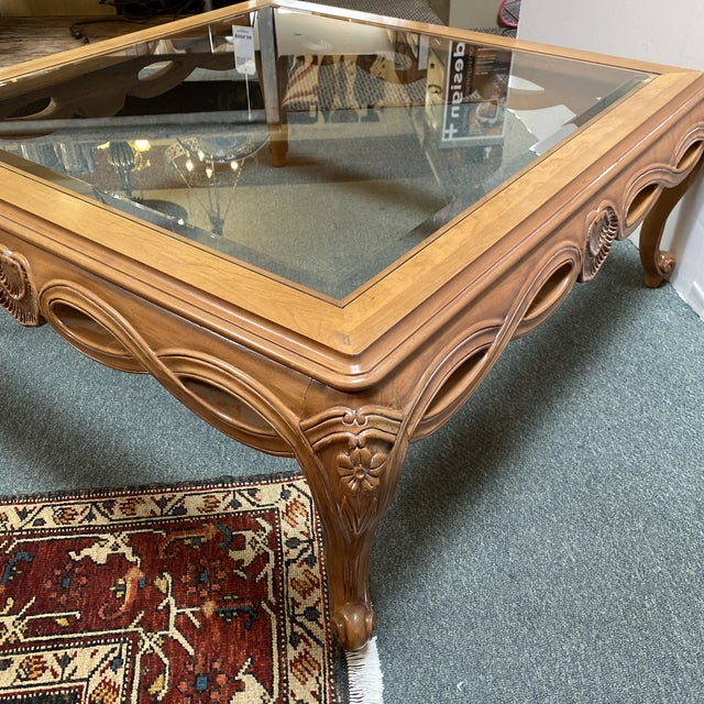 Contemporary Century Furniture Chardeau Collection Coffee Table For Sale - Image 3 of 12