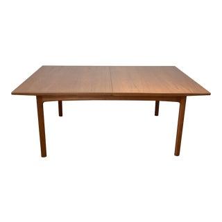 1960s Swedish Modern Folke Ohlsson for Dux Teak Extension Table For Sale