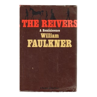 "1962 ""The Reivers: A Reminiscence"" Collectible Book For Sale"