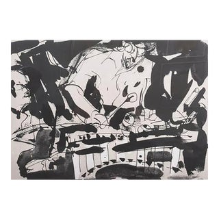 Malcolm Morley Abstract Expressionist Lithograph, 1983 For Sale