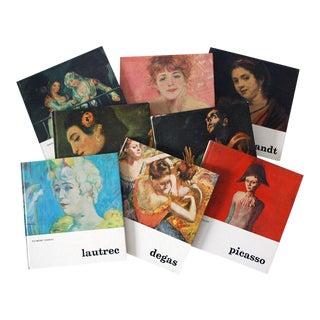 1960s Miniature Great Artist Books - Set of 8