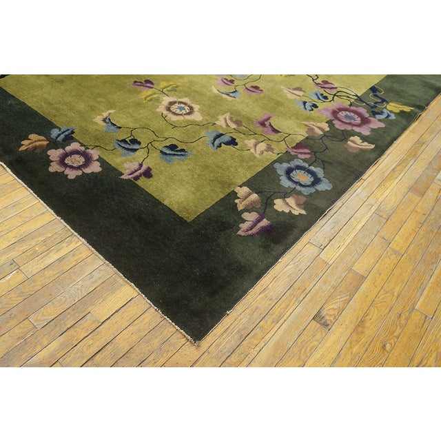Art Deco Antique Chinese Art Deco Rug For Sale - Image 3 of 13