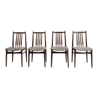 Danish Modern Teak Dining Chairs For Sale