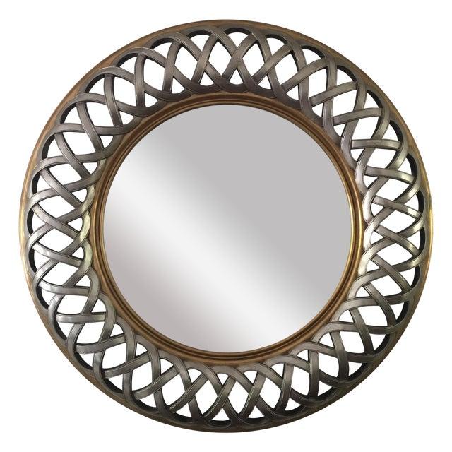 Chinese Round Decorative Mirror - Image 1 of 8