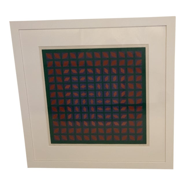 Vintage Abstract Mid-Century Art For Sale