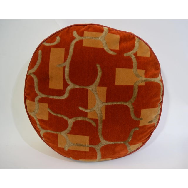 Modern Custom Made Autumnal Tone Pillows - Set of 4 For Sale - Image 3 of 6