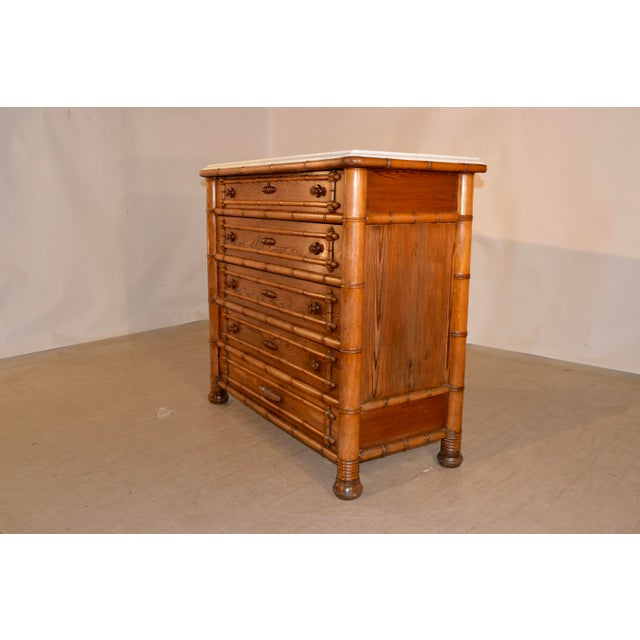 19th C. French Chest of Drawers For Sale - Image 4 of 11