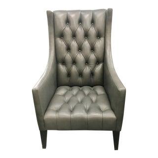 Modern Resource Decor Leather Salon Chair For Sale