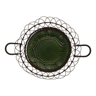Majolica Wire Basket