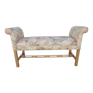 Ethan Allen Chippendale Window Bench