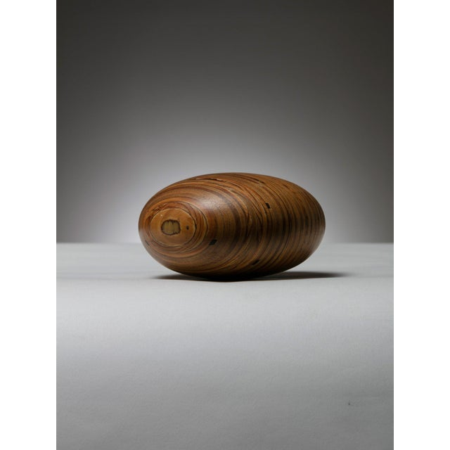 1980s Wood Sclupture by Pedano For Sale - Image 5 of 5