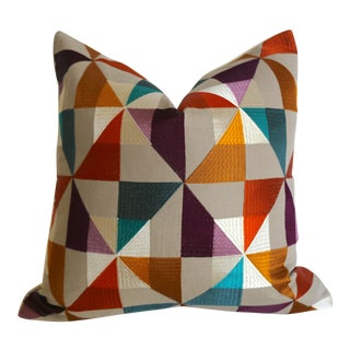 Osborne & Little Bussana Pillow Cover 16x16 For Sale