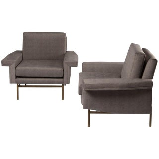 Pair of Armchairs by Giampiero Vitelli for Rossi di Albizzate