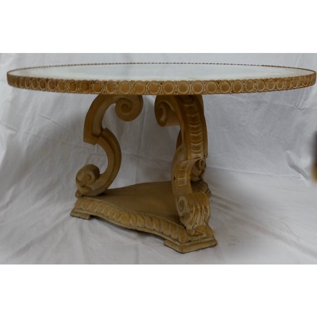 Hollywood Regency Cocktail Table - Image 4 of 4