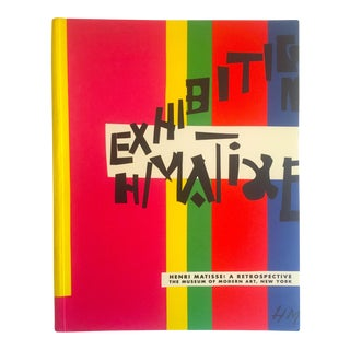 """Henri Matisse : A Retrospective"" 1st Edtn 1992 Iconic Moma Ehibition XL Volume Art Book For Sale"