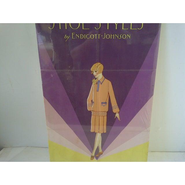 Vintage Endicott-Johnson Advertising Poster For Sale - Image 5 of 6
