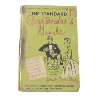 "1949 Hardcover ""The Standard''Bartender's Guide by Patrick Gavin Duffy For Sale"