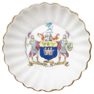 English Vintage Heraldry Dishes, S/2 Preview