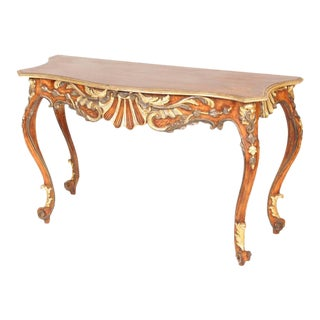 Louis XV Style Console Table For Sale