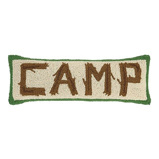 "Camp Twig Hook Pillow, 8"" x 24"" For Sale"