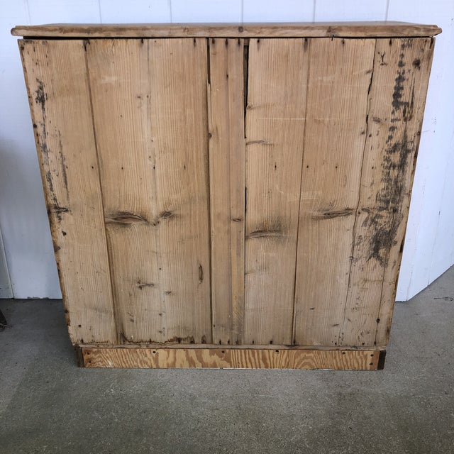 19th Century English Pine Cabinet For Sale - Image 9 of 12