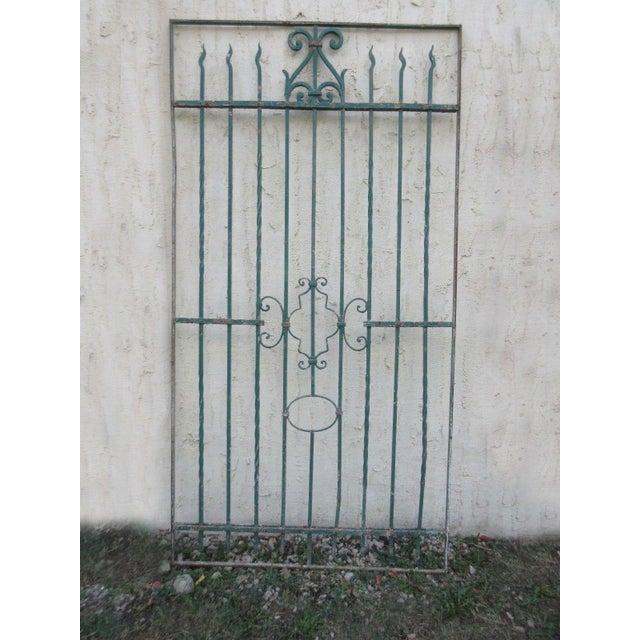 Antique Victorian Iron Gate - Image 2 of 8