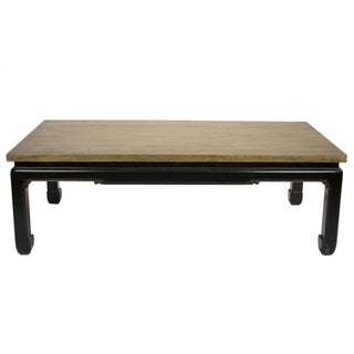 Rectangle Reclaimed Wood Coffee Table For Sale