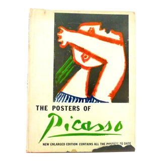 1964 Book, The Posters of Picasso, Illustrated For Sale