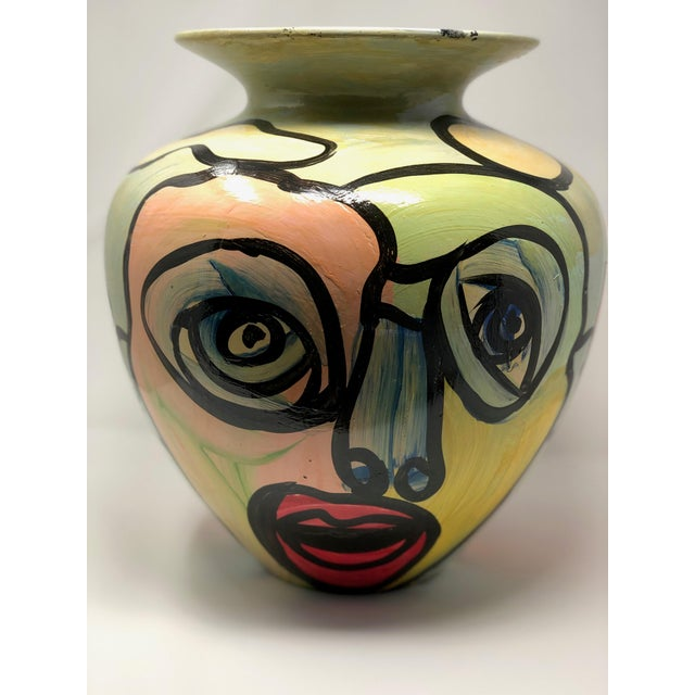 "Abstract 1980s Abstract ""Sculpture Vase"" by Peter Keil For Sale - Image 3 of 7"