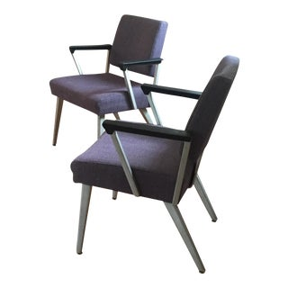 Mid-Century Guest Chairs - A Pair For Sale